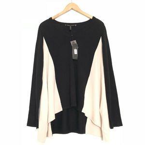 NEW BCBG Maxazria 100% Merino Wool Sweater Top